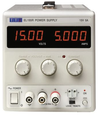 Bench Power Supply EL183R Digital 60W, 1 Output 0 -> 18V 3.3A With UKAS Calibration product photo