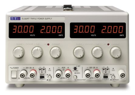 Bench Power Supply EL302RT Digital 130W, 3 Output 0 -> 30V 2A product photo