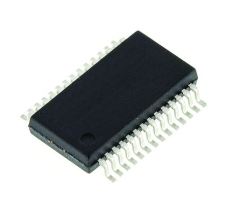 SRC4192IDB, Sample Rate Converter, 24 bit- 212ksps, 28-Pin SSOP
