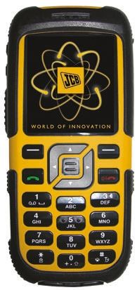 Jcb Toughphone Rugged Mobile Phone