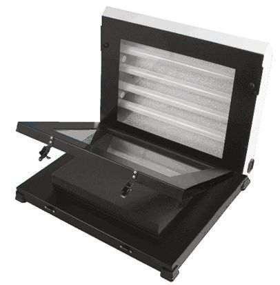 300-250, Single Sided Pressure Contact 355 x 254mm UV Exposure Unit With 4 x 15 W Tubes, 500 x 440 x 150mm