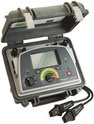 Megger, Model DLRO10HD Ohm Meter, Maximum Resistance Measurement 2500 μΩ, Resistance Measurement Resolution 100nΩ,