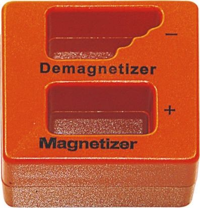 Magnetizer/demagnetizer for hand tools
