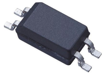 Toshiba, TLP292BL AC Input Infrared LED Output Optocoupler, Surface Mount, 4-Pin SOIC