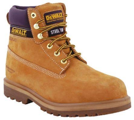 fe70267b96f DeWALT Explorer Steel Toe Safety Boots, UK 12, Resistant To Chemical, Heat,  Oil, Penetration, Petrol, US 13 Anti-Slip No