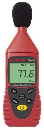 Amprobe SM 10 Sound Level Meter 8kHz 35 → 130 dB