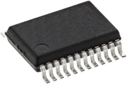 ams AG AS1113-BSSU, LED Driver 16-Segments, 3.3 V, 5 V, 24-Pin SSOP