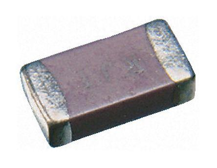 Yageo 0805 (2012M) 100nF Multilayer Ceramic Capacitor MLCC 50V dc ±10% SMD CC0805KRX7R9BB104
