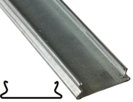 rs pro steel 50 x 50mm cable trunking cover lid rs components
