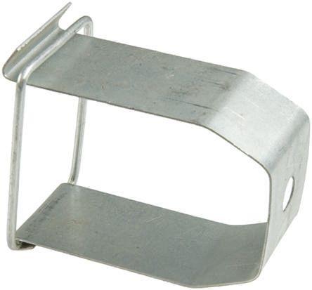rs pro galvanised steel 50 x 50mm lighting trunking hanger hanger