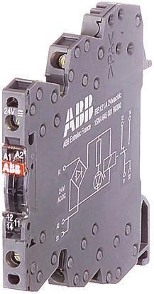 R600 Series 110V ac/dc DIN Rail Interface Relay Module, SPNO, Screw product photo
