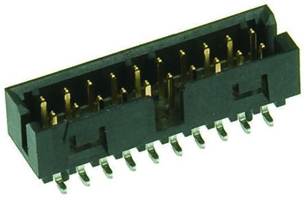 Molex, Milli-Grid, 87832, 32 Way, 2 Row, Straight PCB Header