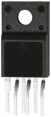 ON Semiconductor FSGM0465RWDTU, 1-Channel Intelligent Power Switch, Off Line Switcher, 1.8A, 26V, 60 6-Pin, TO-220F