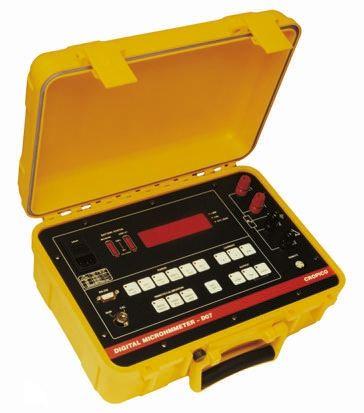 Cropico DO7 Rechargeable Micro Ohm Meter, Maximum Resistance Measurement 60 Ω, Resistance Measurement Resolution