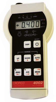 Model DO4002 Ohm Meter RS Calibration, Maximum Resistance Measurement 400 O product photo