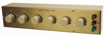 Cropico RBB6-B Decade Box, Decade Box Type Resistance, Resistance Resolution 0.001Ω, Best Maximum Resistance Accuracy
