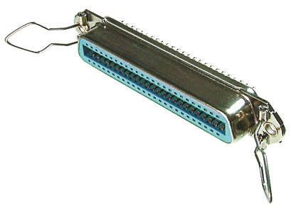 Female 14 Pin Straight Through Hole SCSI Connector 2.16mm Pitch, Solder product photo
