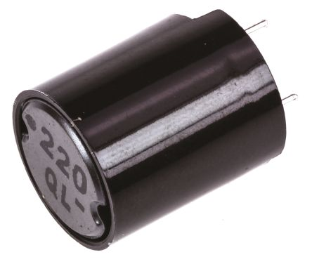 Panasonic 22 μH ±10% Ferrite Leaded Inductor, 2.8A Idc, 40mΩ Rdc ELC11D