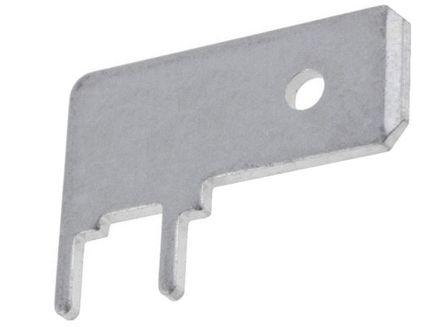 NEU 15 x Flachstecker 6,35 mm  x 0,81 mm unisoliert