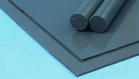 Grey Pvc Plastic Sheet 1m X 500mm X 1mm Rs Components