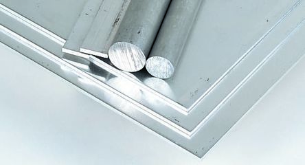 HE30TF Aluminium Round Bar, 3in x 3in x 24in product photo
