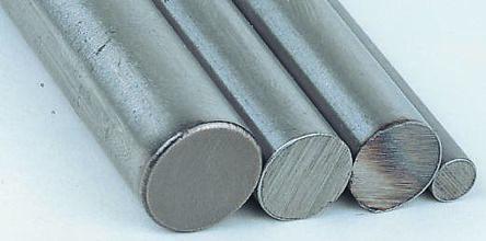 Silver steel rod stock,1m L 8mm dia