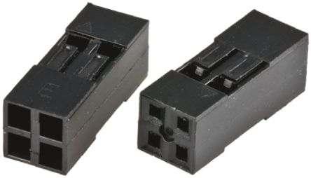 HARWIN M20-10, 2.54mm Pitch, 6 Way, 2 Row Female Connector Housing