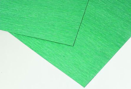 Klinger Nitrile Rubber 750 x 500mm 3mm Thick Green Gasket Sheet, Anti Stick  Surface, Maximum of +400°C