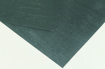 Klinger Nitrile Rubber 750 x 500mm 3mm Thick Black Gasket Sheet, Anti Stick  Surface, Maximum of +450°C