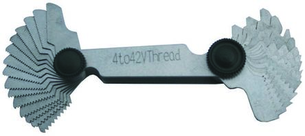 RS PRO, 30 Blades Thread Pitch Gauge, Imperial thread type | RS PRO | RS  Components Int