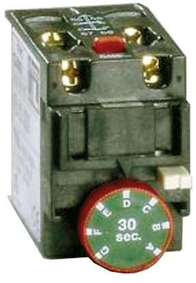 Orange BF Series Analogue (ON Delay) Contactor Timer, Range 1 → 30s, NO/NC Contacts