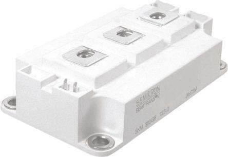 Semikron SKM150GB123D, D 56 Series IGBT Module, 150 A max, 1200 V, Screw  Mount