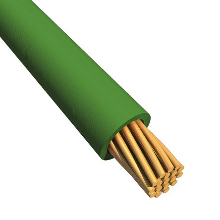 EcoWire Series Green Hook Up Wire UL11028, 0.52 mm² CSA , 600 V 20 AWG, 30m product photo