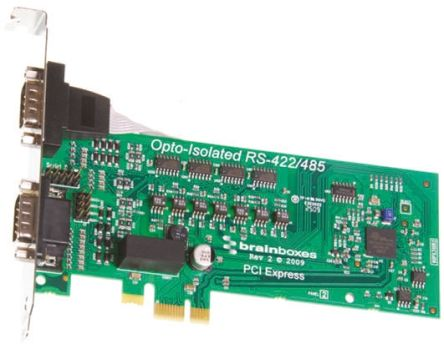 Brainboxes PX-310 Express Card Express Card for use with FIFOS Receiver