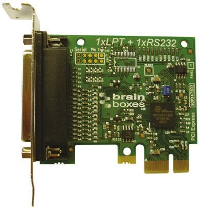 Brainboxes PX-157 Low Profile Express Card Express Card for use with LPT Port