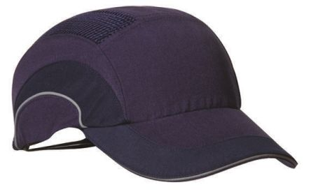 Canvas HDPE Navy Standard Peak Safety Cap product photo