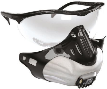 General Personal Protection Kit Containing Clear HC & Anti-Mist Lens, Filter x 3, Goggles, White Holder