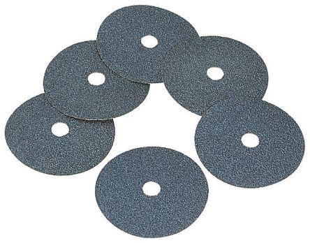 Norton Norzon Fibre Disc Zirconium Dioxide Sanding Disc, 115mm Diameter 120 Grit