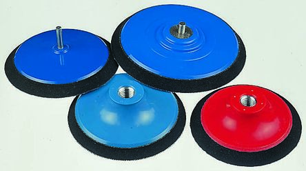 Norton Norgrip Backing Pad for 125mm Disc, 123mm Diameter