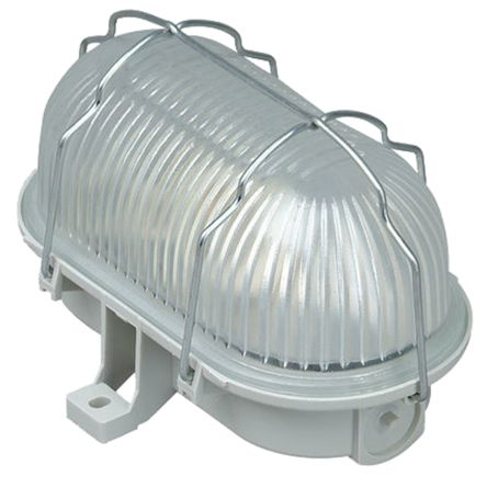 Kopp, 60 W Oval Bulkhead Light, 230 V ac, IP43