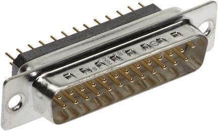 Conector D-sub PCB Filtrado Harting, Serie D-Sub Filter, Paso 2.77mm, Recta, Orificio Pasante, Hembr, 09641127800