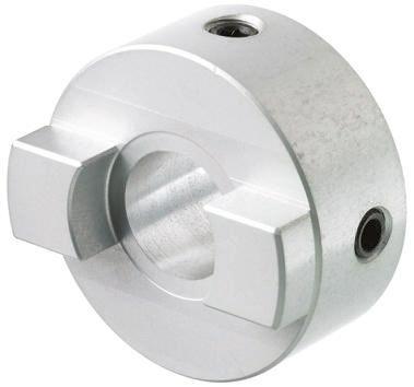 Oldham coupler,8mm ID 25mm Al hub