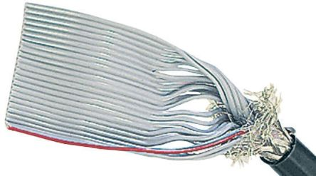 14 Way Screened Round Ribbon Cable, 17.78 mm Width product photo