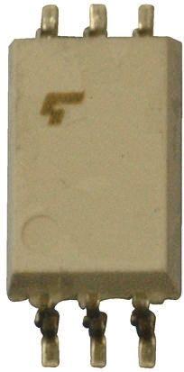 Toshiba 東芝 フォトカプラ, IC出力 1, 6-Pin 表面実装, TLP705FF