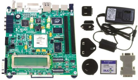 HW-V5-ML501-UNI-G Xilinx | Gen purpose V5 FPGA development