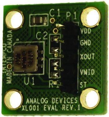 Analog Devices EVAL-ADXL001-250Z, Accelerometer Sensor Evaluation Board for ADXL001-250