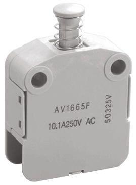 SPST-NO/NC Safety Interlock Switch, 10.1 A @ 250 V ac product photo