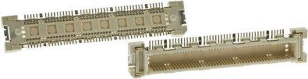 Hirose FunctionMAX FX10, 168 Way, 2 Row, Straight PCB Header