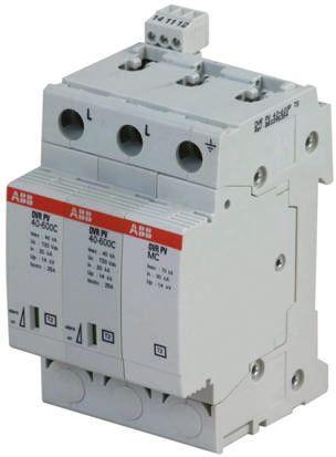 Industrial Surge Protector, 40kA, 600 V, DIN Rail Mount