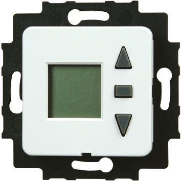 Shutter Timer Switch, Flush Mount, 2 Way 230 V ac 6 A